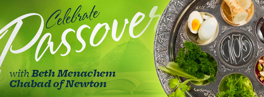 Passover with Beth Menachem Chabad of Newton